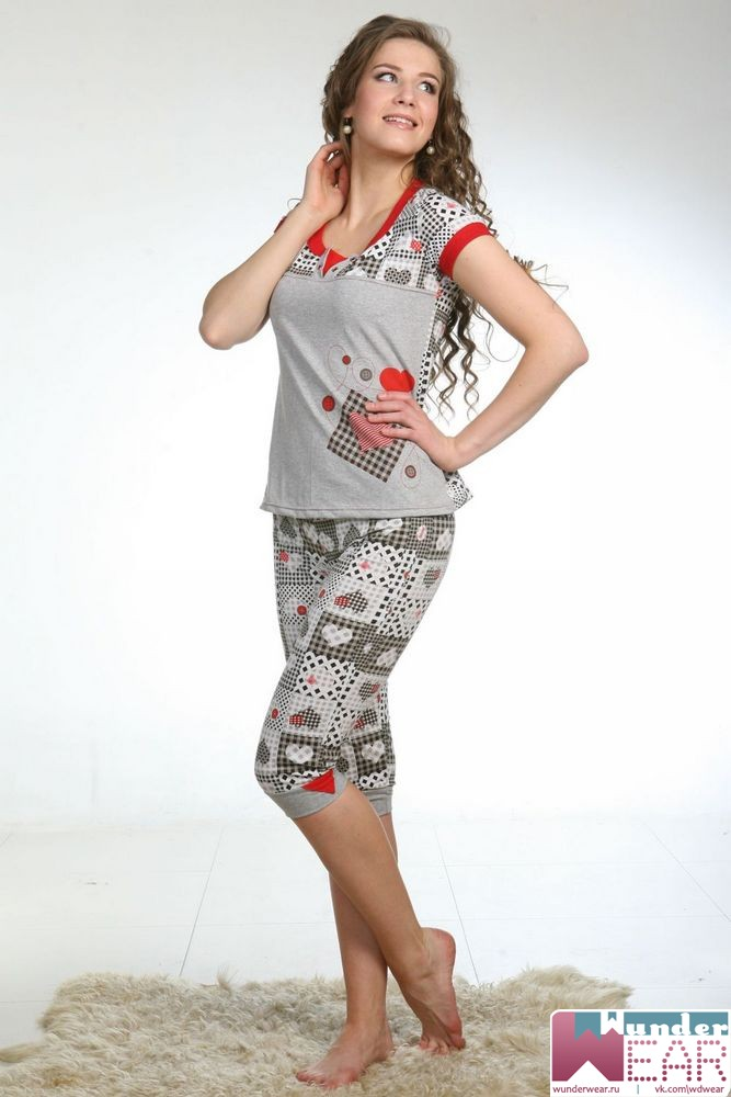 7a2b0b578542 Женские пижамы, выбирай правильно материал, цвет, образ...